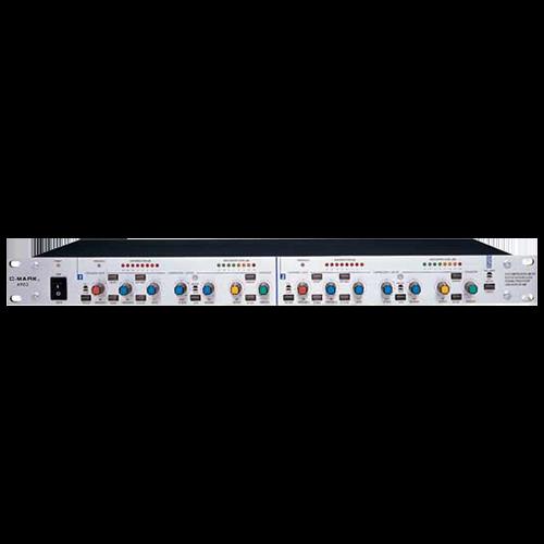 双声道音频频谱指示灯电路图
