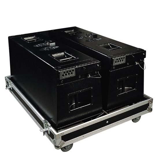 两种接线方式:可以按全频线路,可以用外置电子分频器分别对高音和