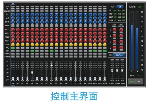 供应c-mark品牌 cdm24路 数字调音台 专业调音台 价格电议